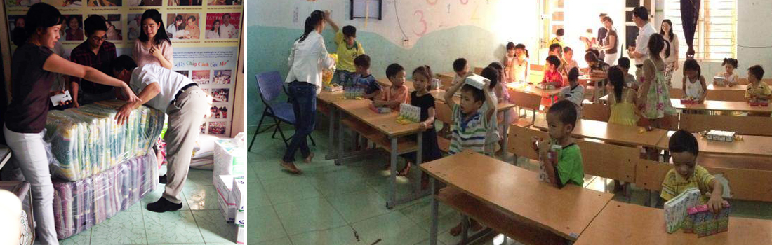 Visiting The Que Huong Charity Center