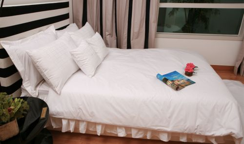 Hotel Bedding Double Set Mirae Joint Stock Company